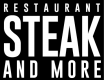 Restaurant Steak and More Logo